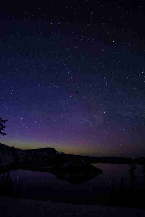 Astrophotography image Crater Lake