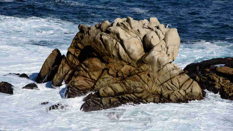 Point Lobos Whalers Cove - Rocks in Ocean