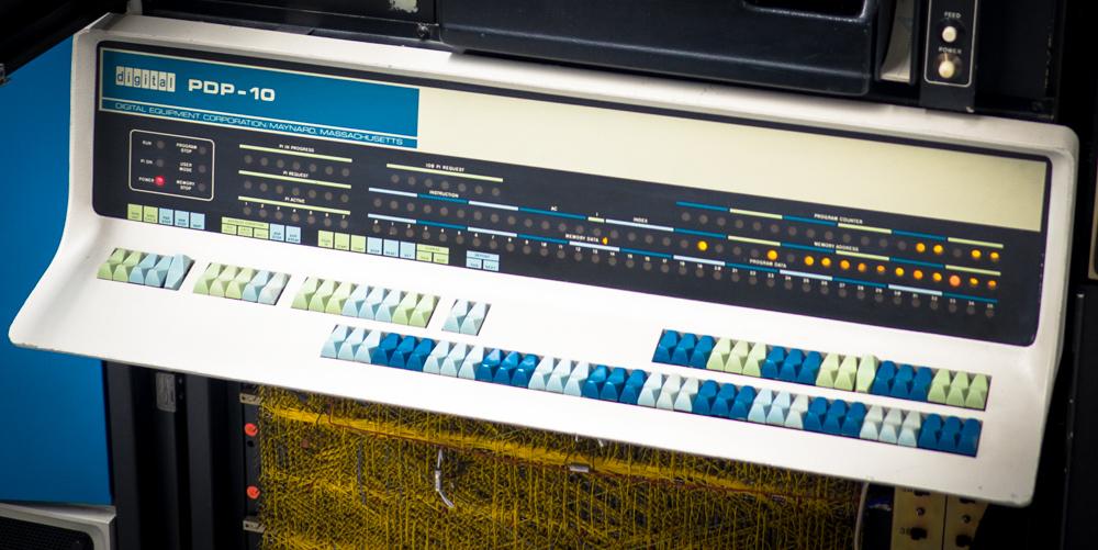 DEC PDP 10 computer